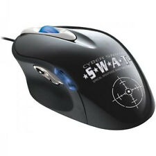 Cyber Snipa SWAT Illuminated Wired USB Laser Programmable Gaming Mouse