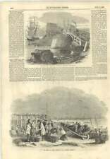 1856 Great Yarmouth Mackerel Fishing Accident West India Docks