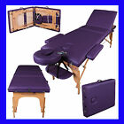 """LIGHTWEIGHT PORTABLE MASSAGE TABLE COUCH BEAUTY THERAPY BED REIKI 1.5"""" SPA"""