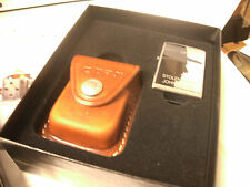 RARE Zippo Lighter Gift Set Stolen From John Wayne Leather Pouch 2007 NEW
