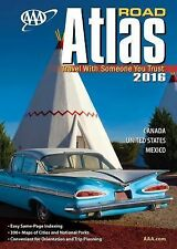 AAA Road Atlas 2016 by A. A. A. Publishing (2015, Paperback)