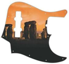 J Bass Pickguard Custom Fender Graphic Graphical Guitar Pick Guard Stonehenge
