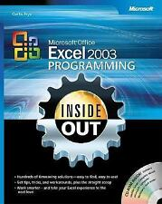 NEW - Microsoft® Office Excel 2003 Programming Inside Out