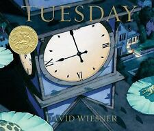 Tuesday by David Wiesner (2011, Paperback)