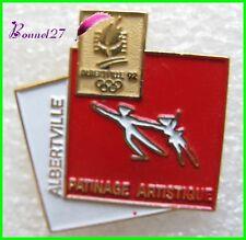 Pin's Pins badge Jeux Olympique Jo Albertville Le Patinage Artistique #2017