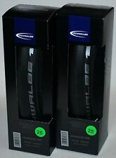 Schwalbe ONE clincher 700 x 25 all black 2 tires / one pair