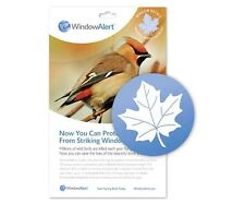 Window Alert 4 Maple Leaf Decals Protect Wild Birds