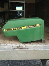 John Deere 165 Hydro Riding Mower Hood with Light Bar