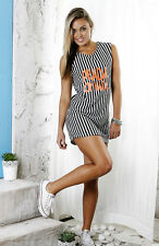 Incyda Prada or Nada Boyfriend dress - Striped RRP $79.95- Size 10