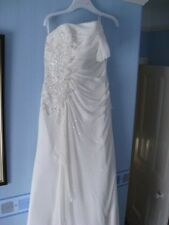 Benjamin Roberts - Size 16 -  Wedding Dress in Cream/ivory