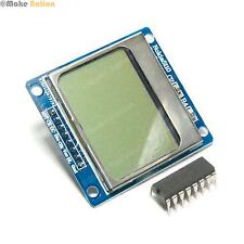 Nokia 5110 LCD Monochrome Display with Logic Level Shifter - Arduino PIC Maker