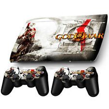 New War Sticker Decal For PS3 PlayStation Super Slim 4000 + 2 Controllers Skins