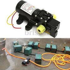 Long Distance Diaphragm High Pressure Water Self Priming Pump 5L/min DC 12V 60W