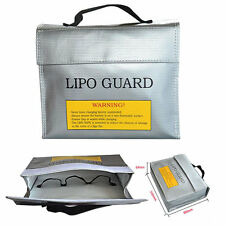 LiPo Safe Battery Charging Protection Bag Explosion Proof 235 * 180 * 65 mm New