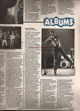 PETER HAMMILL  Black Box review 1980 UK ARTICLE/clipping Van Der Graaf Generator