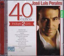 Jose Luis Perales 40 Exitos 2CD NEW SEALED NUEVO