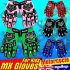 Kids Motorbike MX glove gloves ATV Quad Dirt Trail Pit Bike skating BMX Buggy