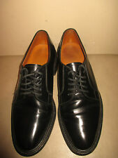 Cheaney for Jones Bootmaker Bench Made Black leather Derby Sz. 71/2 UK 8.5-9 US