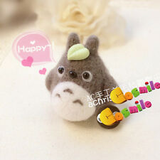 DIY Package Wool Felt Craft Needle Felting Tonari no Totoro Keychain Material