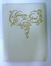 ANTIQUE GIVEN TO GOD BOOK A MOMENTO OF THE DAY BAPTISM 1933 1906 MILLER RARE #6