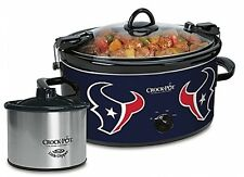 Crock-Pot Houston Texans NFL Cook and Carry Slow Cooker with Little Dipper