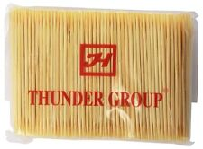 Thunder Group BAMBOO TOOTH PICKS, 10 BAG/PACK BATP001 Toothpicks NEW