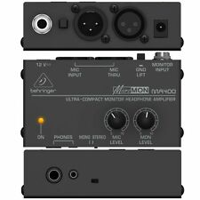 BEHRINGER MICROMON - MA400 - Compact Monitor Headphone Stereo Amplifier