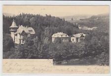 AK Kyselka, Giesshübl-Sauerbrunn, Villen-Anlage 1905