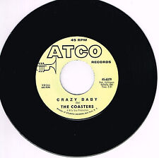 THE COASTERS - CRAZY BABY b/w TAMI LYNN - I'M GONNA RUN AWAY FROM YOU (Northern)