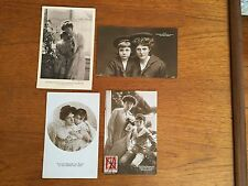 Princess Rupprecht/Marie Gabriele/Bavaria with Prince Luitpold. 4 cards. Royalty