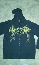 HIM heartagram Angels Zip Up Hoodie Sweatshirt M Ville Valo Discontinued NWOT