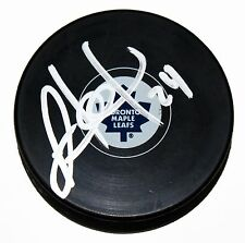 PETER HOLLAND SIGNED TORONTO MAPLE LEAFS Puck DUCKS NHL STAR AUTOGRAPHED +COA