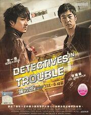 Detectives in Trouble (Korean TV Series) DVD _English Sub_Region 0_ Song Il-gook
