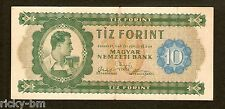 Hungary Ungarn 10 Forint 1946 ,  P# 159a . Very rare original banknote !