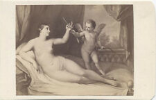 CDV, IMAGE OF A GUIDO RENI PAINTING, THE VENUS. DRESDEN GALLERY.