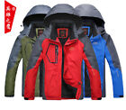 Men' Outdoor Hiking Waterproof Breathable Soft Shell Coat Softshell Jacket Coat