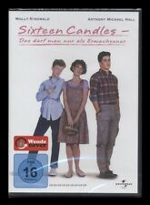 DVD SIXTEEN CANDLES - MOLLY RINGWALD + ANTHONY MICHAEL HALL - 80er Komödie * NEU