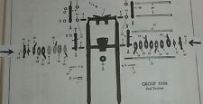 1934-42 Indian Sport Scout & 741 Motorcycle Front Fork Parts NOS