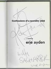 Confessions Of A Nowaday Child by & Signed by Erje Ayden HB/DJ Turkish Beatnik