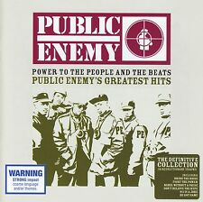 PUBLIC ENEMY - GREATEST HITS : POWER TO THE PEOPLE & THE BEATS CD ~ RAP *NEW*