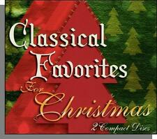 Classical Favorites For Christmas (2004) - 2 New Classical Music CD's!