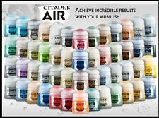 Citadel Air Paints Complete Set 52 colors, Games Workshop Warhammer 40K & AoS