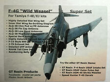 1/32 GT Resin F-4G Super Set for Tamiya F-4E/EJ Phantom Kits