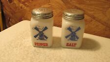Antique Dutch Windmill Range Shakers