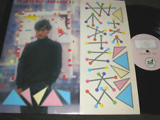 Yukihiro Takahashi The Beatniks '82 orig YMO NM LP statik rare new wave synth!!