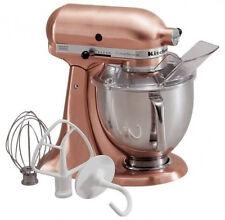 KitchenAid RRK150CP All Brushed Metal Copper Tilt Artisan Tilting Stand Mixer