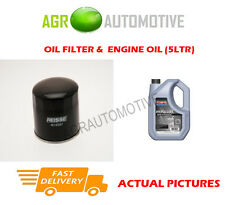 DIESEL OIL FILTER + SS 10W40 ENGINE OIL FOR TOYOTA STARLET 1.5 54 BHP 1989-96