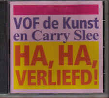 VOF de Kunst en Carry Slee-Ha Ha Verliefd cd maxi single
