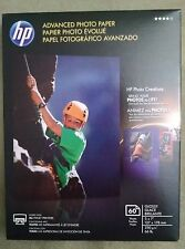 HP Advanced Photo Paper, Glossy Photo Inkjet(60 Sheets, 5 x 7 Inch) Q8690A - New