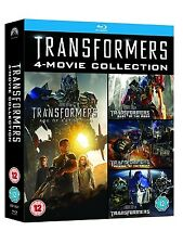 Transformers Box Set 4 Movie Collection New Sealed Blu-Ray Region Free
